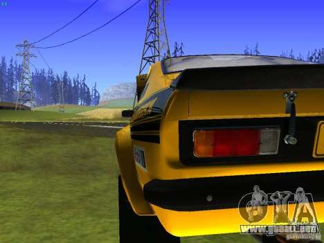 Opel Kadett para la vista superior GTA San Andreas