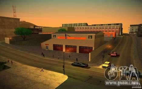 Departamento de bomberos de HD para GTA San Andreas segunda pantalla