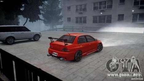 Mitsubishi Lancer Evolution 8 v2.0 para GTA 4 left
