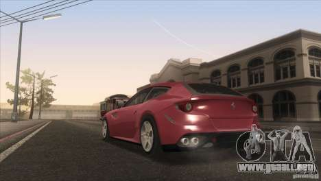 Ferrari FF 2011 V1.0 para GTA San Andreas interior