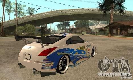 Nissan Z350 - Tuning para la visión correcta GTA San Andreas