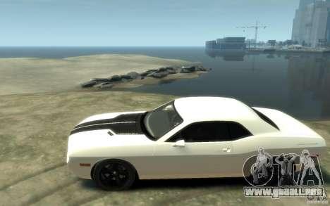 Dodge Challenger Concept para GTA 4 left