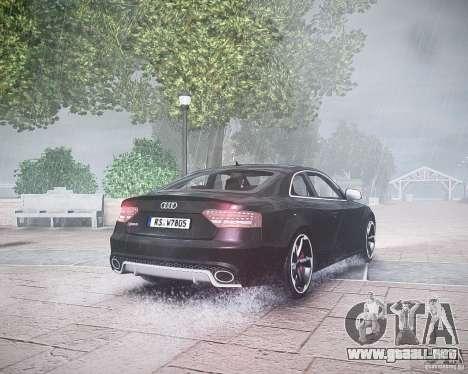 Audi RS5 2010 para GTA 4 visión correcta