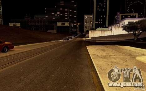 Un nuevo algoritmo para tráfico de vehículos para GTA San Andreas sexta pantalla