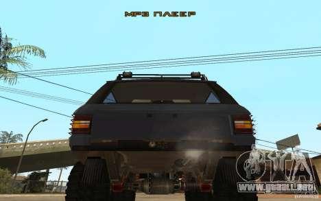 Range Rover Off Road para la visión correcta GTA San Andreas