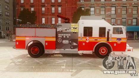 FDNY Seagrave Marauder II para GTA 4 left