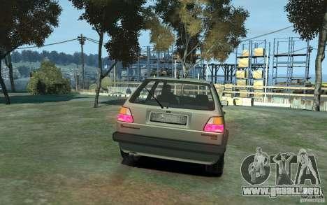 Volkswagen Golf II GTI para GTA 4 visión correcta