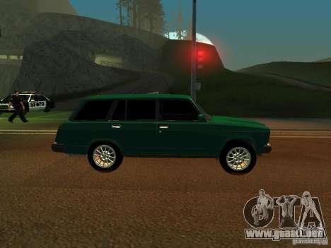 VAZ 21047 para GTA San Andreas vista posterior izquierda