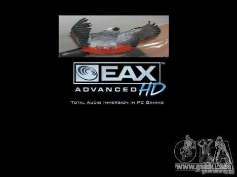 Beta arranque pantalla loros loro para GTA San Andreas undécima de pantalla