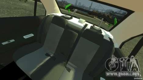 Mitsubishi Lancer Evo IX Tuning para GTA 4 vista hacia atrás
