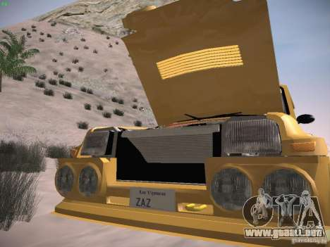Renault 5 Turbo para vista lateral GTA San Andreas