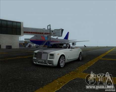 Rolls Royce Phantom Series II Drophead Coupe 12 para la visión correcta GTA San Andreas