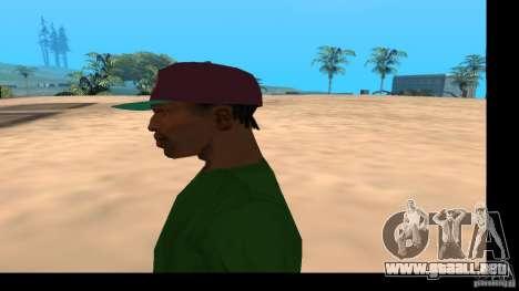 Gorra de béisbol con el logo de la banda HIM para GTA San Andreas sucesivamente de pantalla