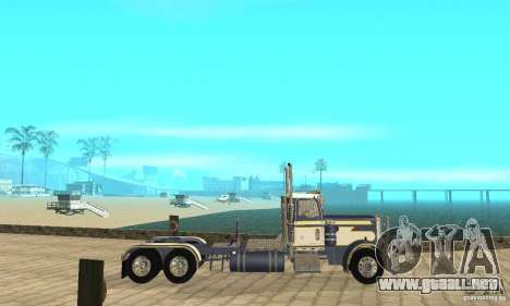 Peterbilt 359 1978 para GTA San Andreas left