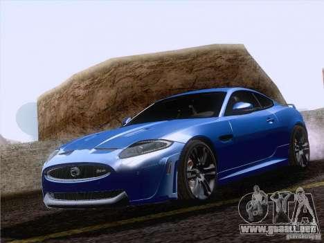 Jaguar XKR-S 2011 V2.0 para visión interna GTA San Andreas