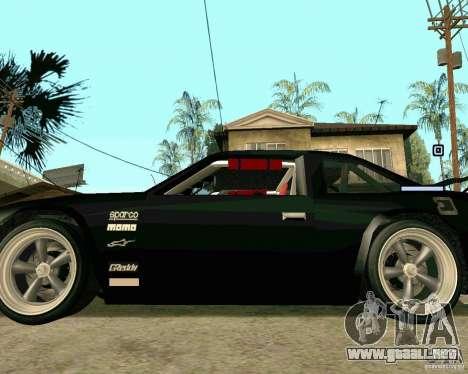 Hotring Racer Tuned para vista lateral GTA San Andreas