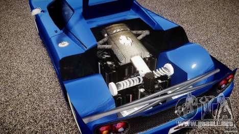 Ferrari F50 Spider v2.0 para GTA 4 vista hacia atrás