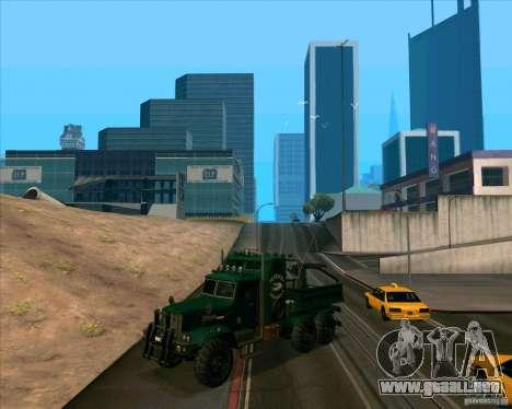 KrAZy Crocodile para GTA San Andreas left