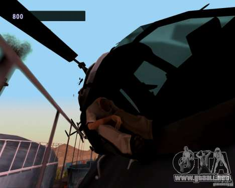 Pilotos de helicópteros para GTA San Andreas segunda pantalla