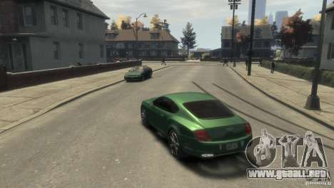 Bentley Continental SS para GTA 4 visión correcta