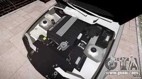 BMW E36 328i v2.0 para GTA 4 vista hacia atrás