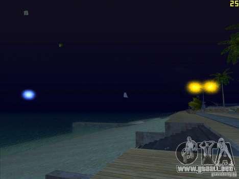ENBSeries v1.6 para GTA San Andreas novena de pantalla