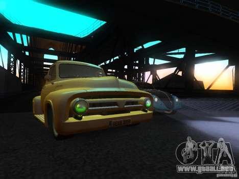Ford FR 100 para la visión correcta GTA San Andreas