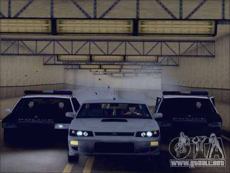 New Police LSPD para la visión correcta GTA San Andreas