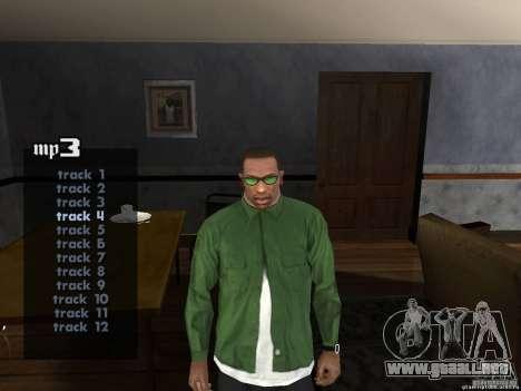 RAP V2.0 para GTA San Andreas segunda pantalla