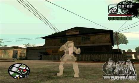 Effects of Predator v 1.0 para GTA San Andreas segunda pantalla