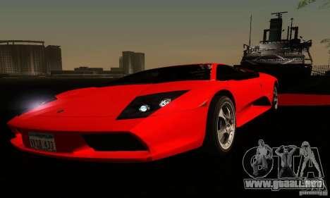 Lamborghini Murcielago para vista inferior GTA San Andreas
