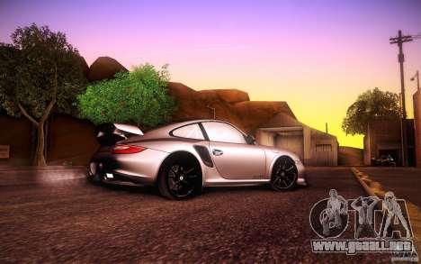 Porsche 911 GT2 RS 2012 para GTA San Andreas vista hacia atrás