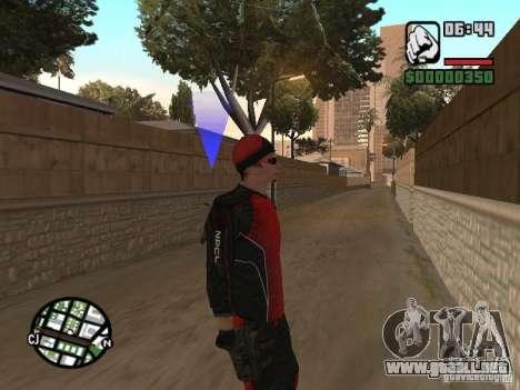 Skydiver para GTA San Andreas tercera pantalla