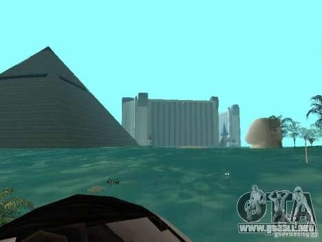 Inundación para GTA San Andreas segunda pantalla