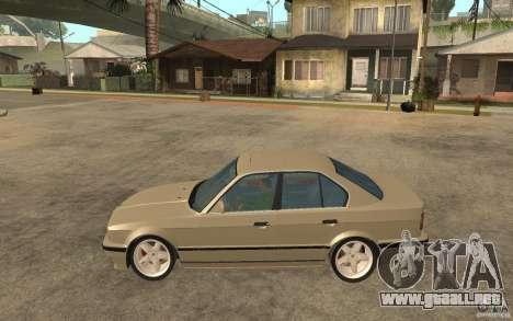 BMW 535i e34 AC Schnitzer para GTA San Andreas left