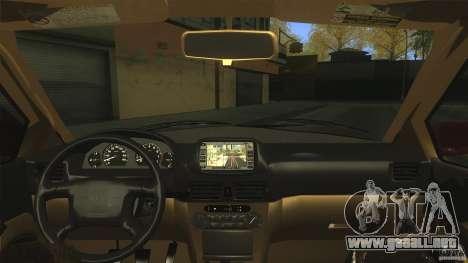 Toyota Corolla G6 Compact E110 EU para la visión correcta GTA San Andreas