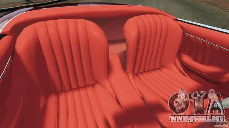 Mercedes-Benz 300 SL Roadster v1.0 para GTA 4 vista interior