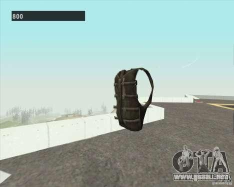 Black Ops Parachute para GTA San Andreas segunda pantalla