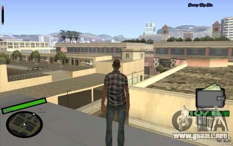 Nuevo HUD para GTA San Andreas sucesivamente de pantalla
