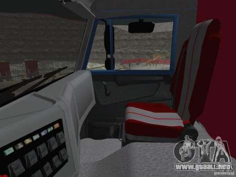 KAMAZ 65222 para visión interna GTA San Andreas