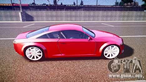 Audi Nuvollari Quattro para GTA 4 vista lateral