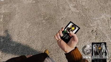 El tema de Mercenaries 2 para teléfonos móviles para GTA 4