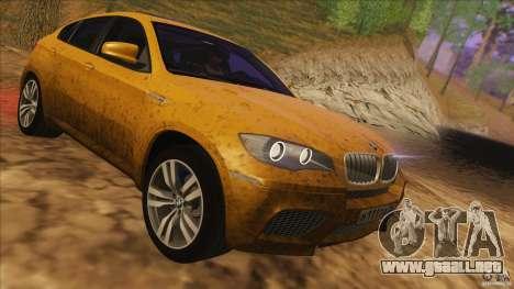 BMW X6M E71 v2 para visión interna GTA San Andreas