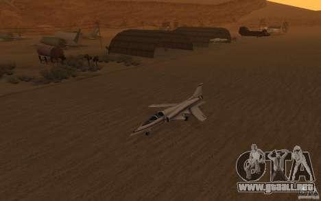 Grumman X29A para GTA San Andreas left