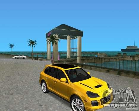2009 Porsche Cayenne Turbo para GTA Vice City