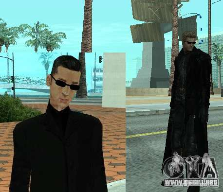 Pak personajes de Resident Evil para GTA San Andreas tercera pantalla