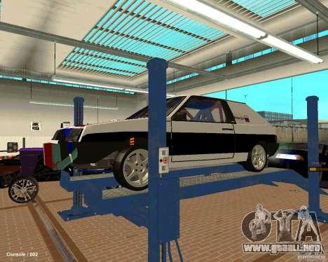 VAZ 2108 Drag para el motor de GTA San Andreas