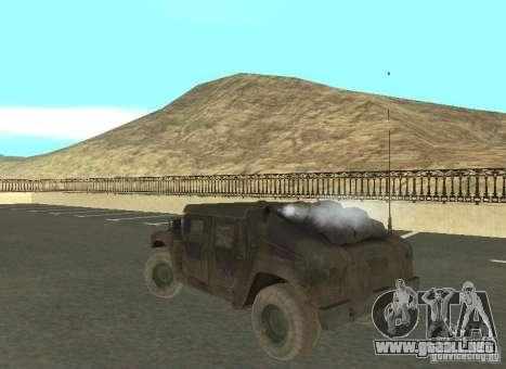 Hummer Cav 033 para la visión correcta GTA San Andreas