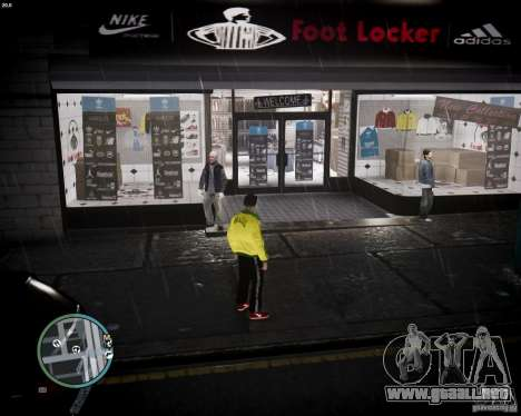 Foot Locker Shop v0.1 para GTA 4
