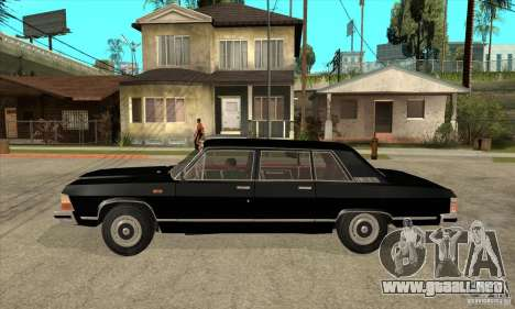 GAZ 14 Chaika para GTA San Andreas left